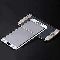 Защитное cтекло TTech Nano Full Cover 3D Samsung S7 Edge G935 White
