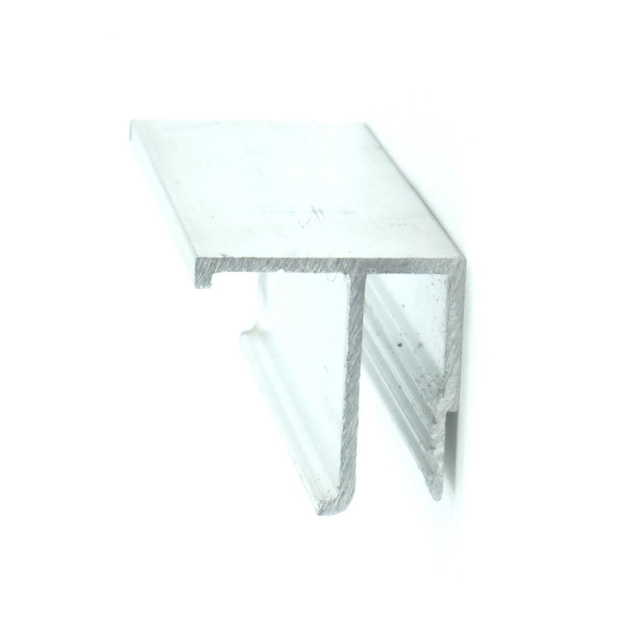 Профиль алюминиевый для натяжных потолков - F-образный, потолочный. Длина профиля 2,5 м.