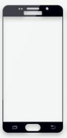 Захисне скло 3D Samsung Galaxy A5 A520 (2017) чорне