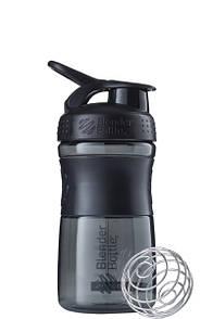 Спортивная бутылка-шейкер BlenderBottle SportMixer 590ml Black, Original R144887