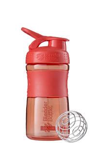 Спортивная бутылка-шейкер BlenderBottle SportMixer 590ml Coral, Original R144873
