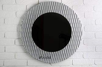 Зеркало настенное Berne серебряное