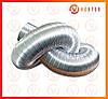 Воздуховод гофрированный алюминиевый ф 120, L=1.5 м, 100 мкм