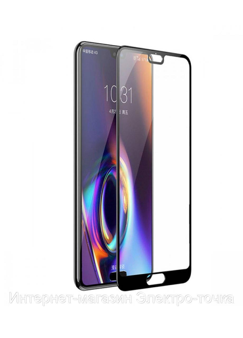 Защитное стекло 3D Huawei P20 черное