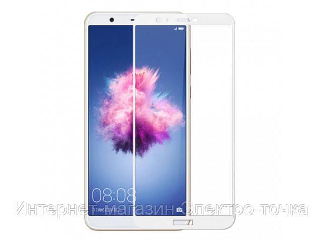 Защитное стекло 3D Huawei P Smart белое