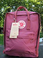 Рюкзак женский канкен Fjallraven Kanken classic bag bordo. Живое фото. Премиум реплика
