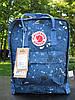 Рюкзак женский Fjallraven Kanken classic backpack Blue Fable. Живое фото. Premium Class