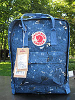 Рюкзак женский Fjallraven Kanken classic backpack Blue Fable. Живое фото. Premium Class, фото 1