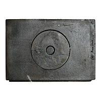 Плита чугунная 1- комфорочная (Б) 320х480 (мал. Закарпатская)