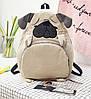 Рюкзак молодежный  собачка