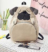 Рюкзак молодежный  собачка, фото 1