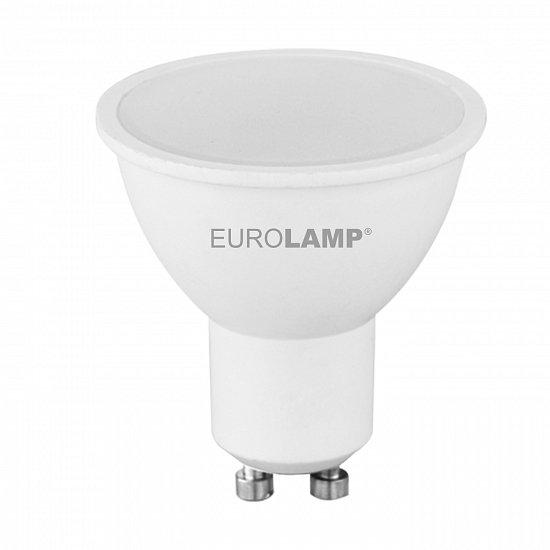 "LED Лампа Eurolamp ECO серия ""P"" MR16 5W GU10 3000K"