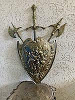 Декоративный Бронзовый Щит на стену