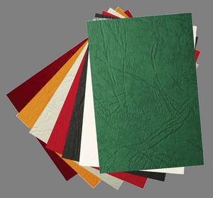 Обложки bindMARK Кантри А3 картон под кожу тёмно-синие 100 листов