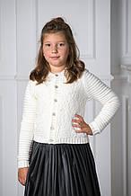 Детский кардиган для девочки Pezzo D'oro Италия S06 K63035 белый
