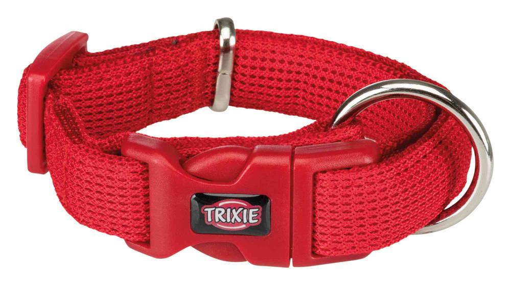 Нашийник нейлон XS-S 22-35 см Comfort Soft Червоний для собак