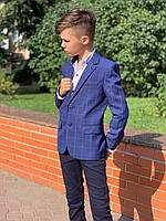 Пиджак для мальчика 6-10 лет