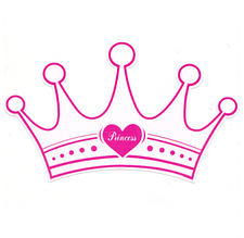 """Пригласительные """"Принцесса"""" 170х90мм"""
