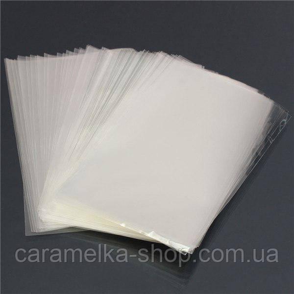 Пакет прозорий 8*12 см, 100 шт Для льодяників, для кейк попсов
