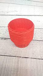 Формы бумажные для кексов усиленные с бортиком Красные, 55*35 мм