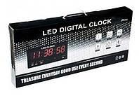 Электронные настольные часы CW 4622 ТОЛЬКО КРАСНАЯ ПОДСВЕТКА