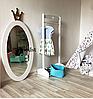 Зеркало в детскую комнату Princess белое, фото 2