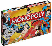 Монополия DC. Monopoly DC Comics Retro