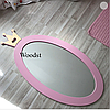 Зеркало в детскую комнату Princess розовое, фото 2