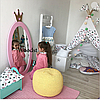 Зеркало в детскую комнату Princess розовое, фото 3