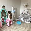 Зеркало в детскую комнату Princess бирюзовое, фото 2