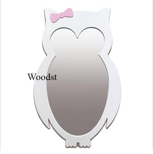 Зеркало в детскую комнату Owl белое