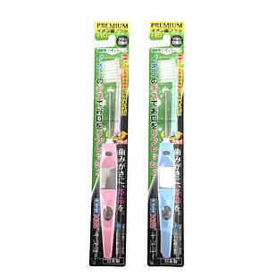 Kiss You Ионная зубная щетка с ультратонкой щетиной средней жесткости для лучшей очистки межзубных промежутков