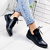 Ботинки женские Ella демисезонные черные натуральная кожа )), фото 2