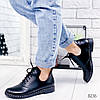 Ботинки женские Ella демисезонные черные натуральная кожа )), фото 5
