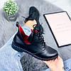Ботинки женские Ella демисезонные черные натуральная кожа )), фото 7