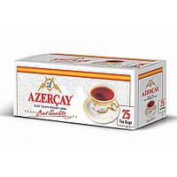 Чай Азерчай черный с бергамотом в пакетиках 25 шт  50гр