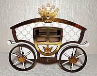 Шкатулка-Карета маленькая (для игр, хранения украшений, конфет), фото 1