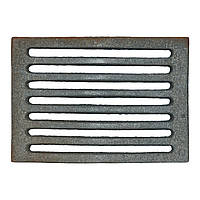 Решетка чугунная для печи (М) (27) 270х190 (8 рядов)