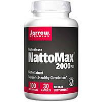 Наттокиназа макс Jarrow Formulas 100 мг 30 капсул