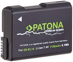 Акумулятор Nikon EN-EL14 Chip (D3100, D3200, D5100) PATONA (DV00DV1290)