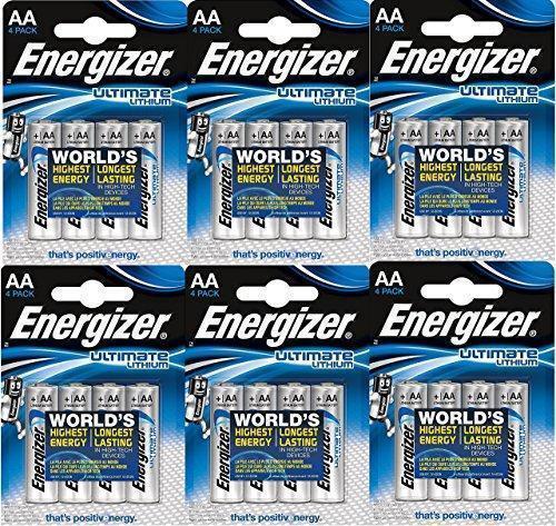 Батарейка AA Energizer L91 Ultimate Lithium 3000 mAh 1.5V High Energy 5A, блистер 4 шт.