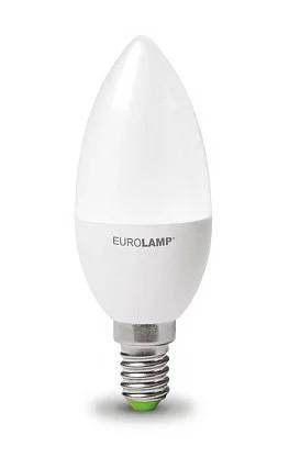 """LED Лампа свеча Eurolamp ЕCО серия """"P"""" 8W E14 4000K"""