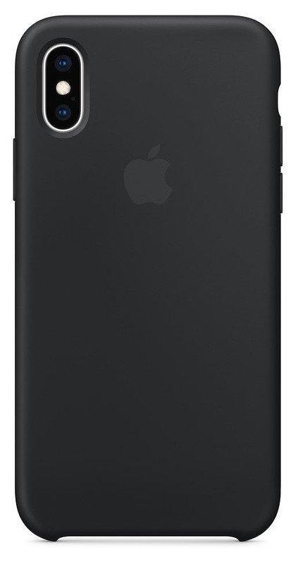 Чехол Silicone Case Apple iPhone iPhone Xs (Black)