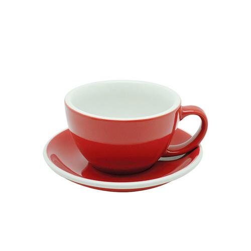Чашка и блюдце Acme Red для латте (280 мл)
