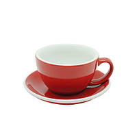 Чашка и блюдце Acme Red для латте (280 мл), фото 1
