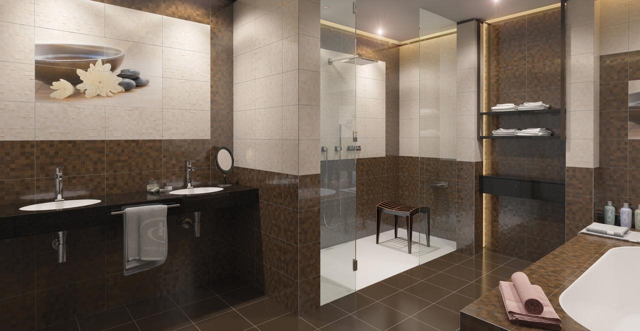 Фриз для стен Bali коричневый 400x30x9 мм