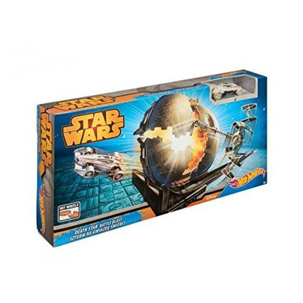 Hot Wheels Звезда Смерти Star Wars Death Star Battle Blast Track Set Mattel 03360