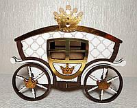 Шкатулка-Карета большая (для игр, хранения украшений, конфет), фото 1