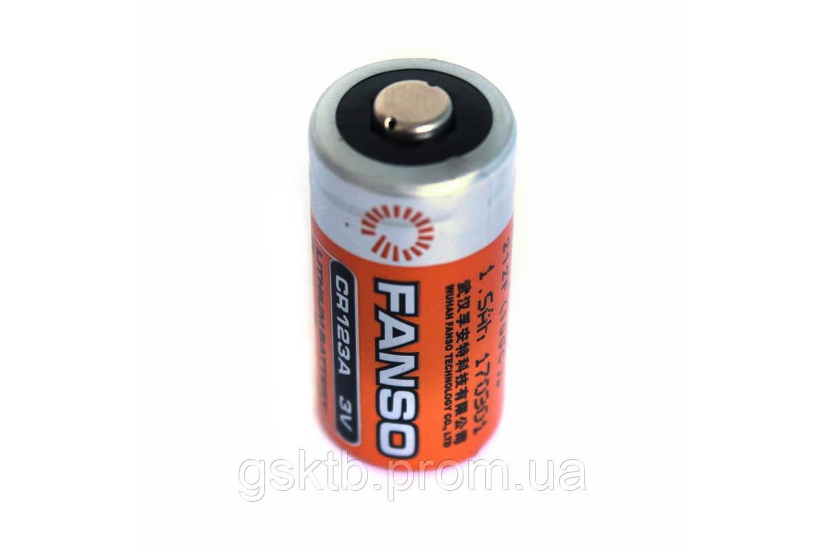 Литиевая батарея CR123A 2/3 A Size 3,0В 1500мАч, Li-MnO2