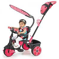 Little Tikes Трехколесный велосипед 4 в 1 розовый Sports Edition